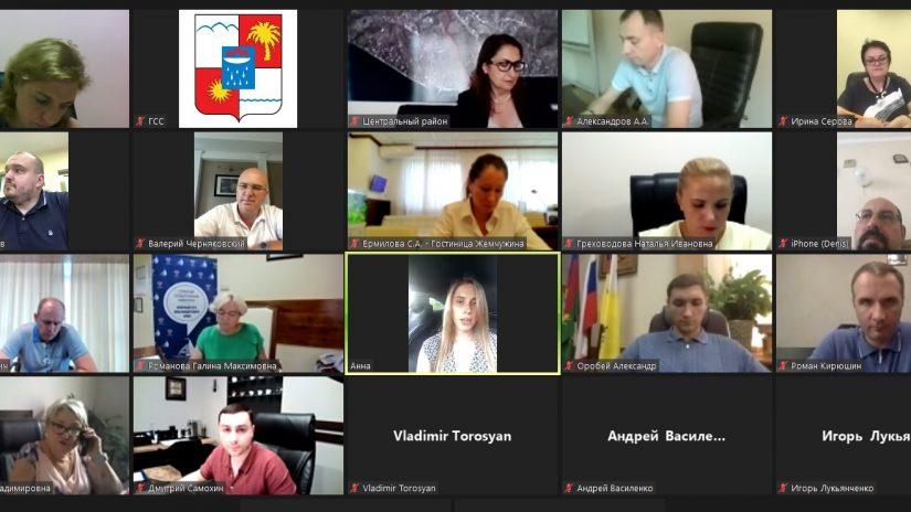 Депутаты приняли участие в заседании Центральнойтерриториальной группы