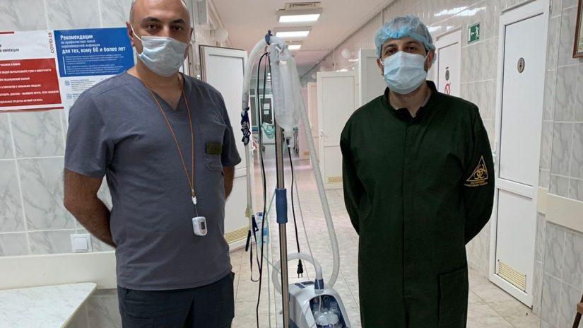 Депутаты Хостинской территориальной группы помогли с приобретением аппарата высокопоточной оксигенотерапии