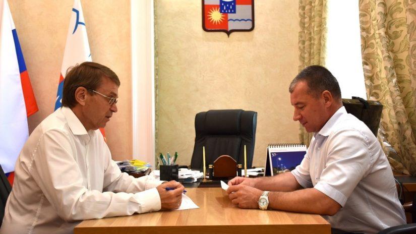 Виктор Филонов провел рабочую встречу с заместителем Главы города Сочи Алексеем Соколовым