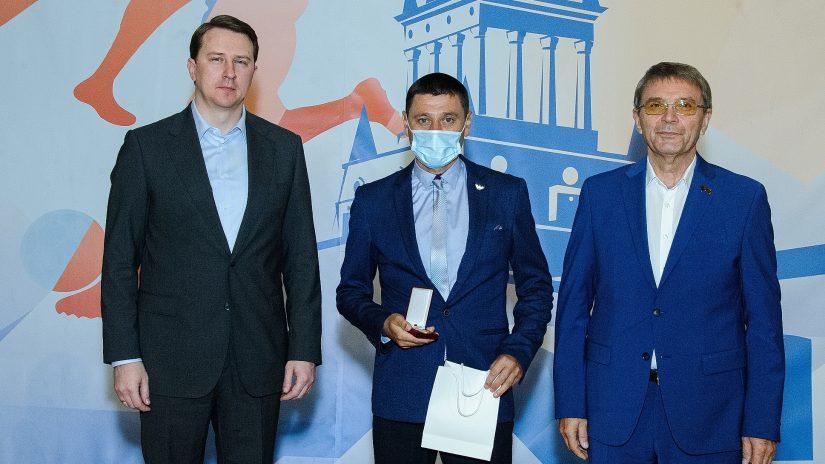 Глава Сочи Алексей Копайгородский и председатель Городского Собрания Сочи Виктор Филонов провели прием в честь Дня физкультурника