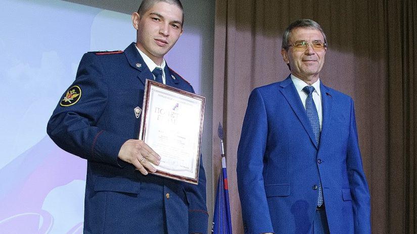 Виктор Филонов поздравил сотрудников Центра подготовки спецназа в Сочи с 20-летием со дня образования