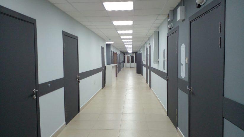 Завершен капитальный ремонт в горбольнице № 3 Хостинского района