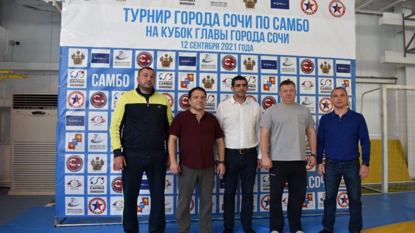 Владимир Елединов принял участие в торжественном открытии турнира города Сочи по самбо на Кубок Главы города Сочи