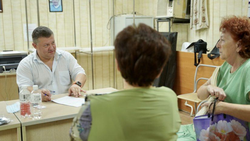 Владимир Елединов провел плановый прием граждан
