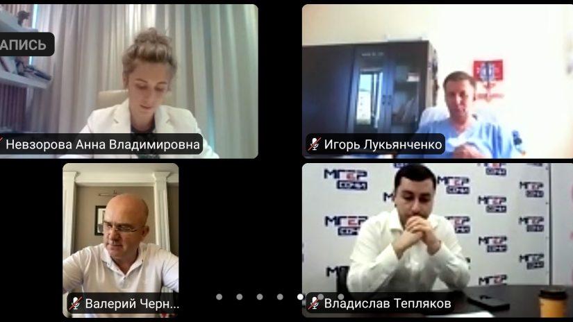 В Горсобрании прошло заседание территориальной депутатской группы Центрального района